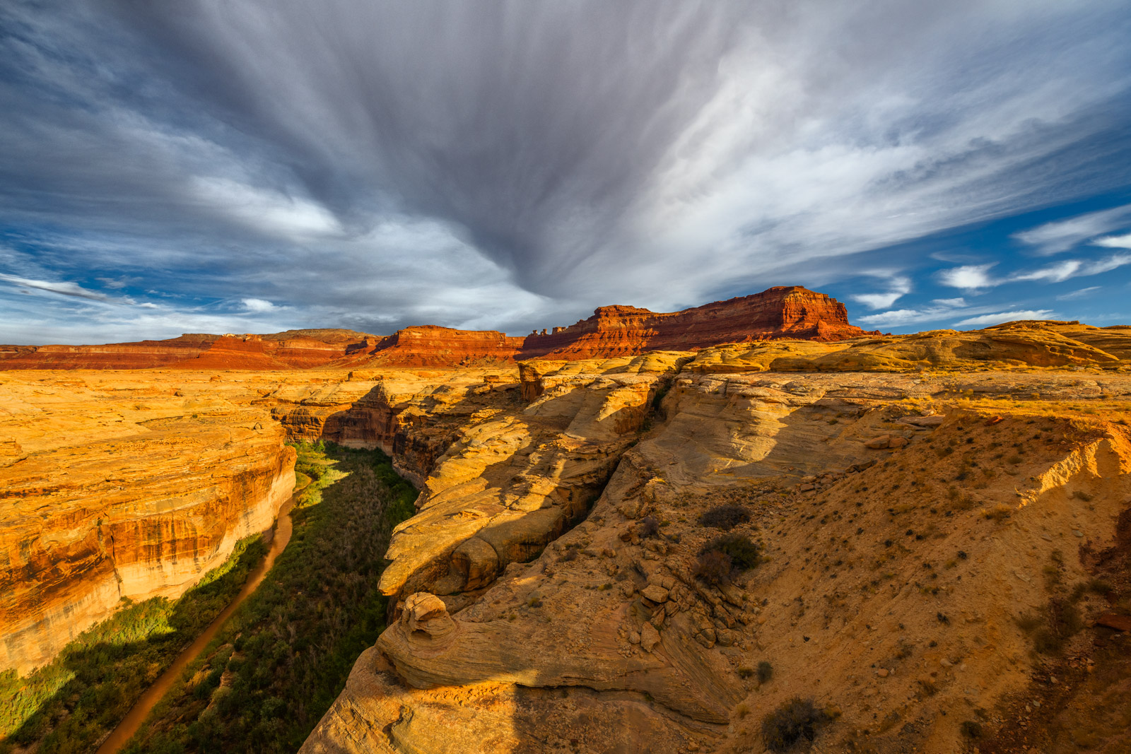 Utah, Hite, Canyon, Red Rock, River, photo