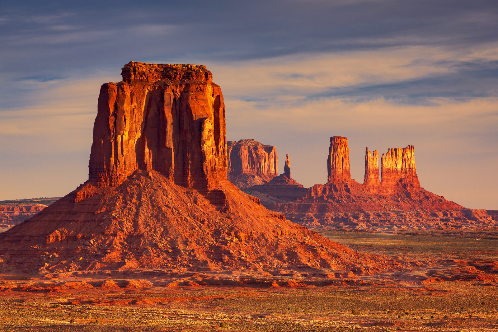 Utah, Monument Valley, Artist Point, limited edition, photograph, fine art, landscape, red rock, photo