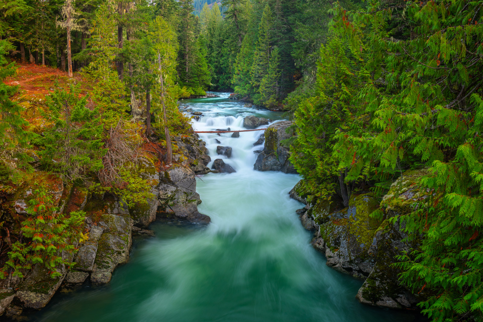 Washington, waterfall, agua, river, pacific northwest, photo