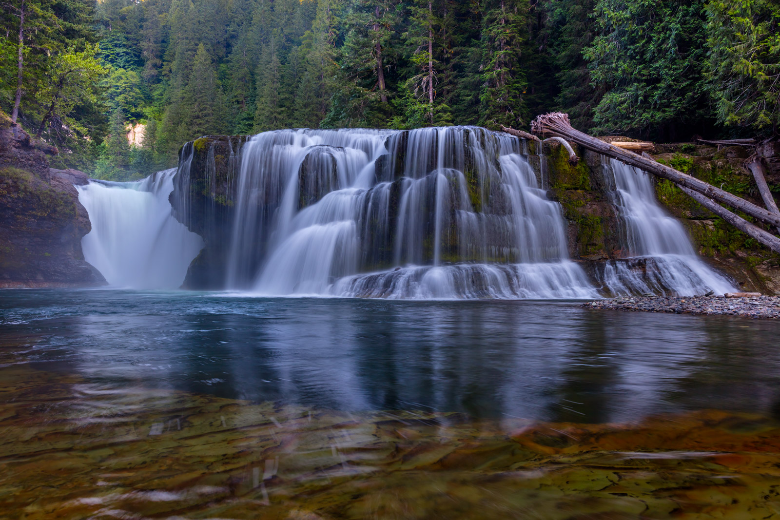 Washington, Lower Lewis River Falls, Waterfall, River, Lewis River, limited edition, photograph, fine art, landscape, photo