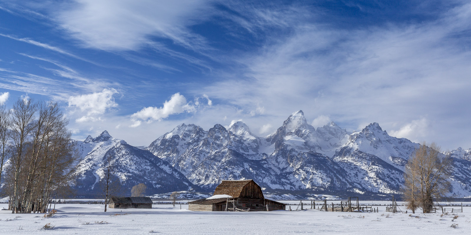 Wyoming, Tetons, Grand Tetons, winter, snow, mountains, limited edition, photograph, fine art, landscape, photo