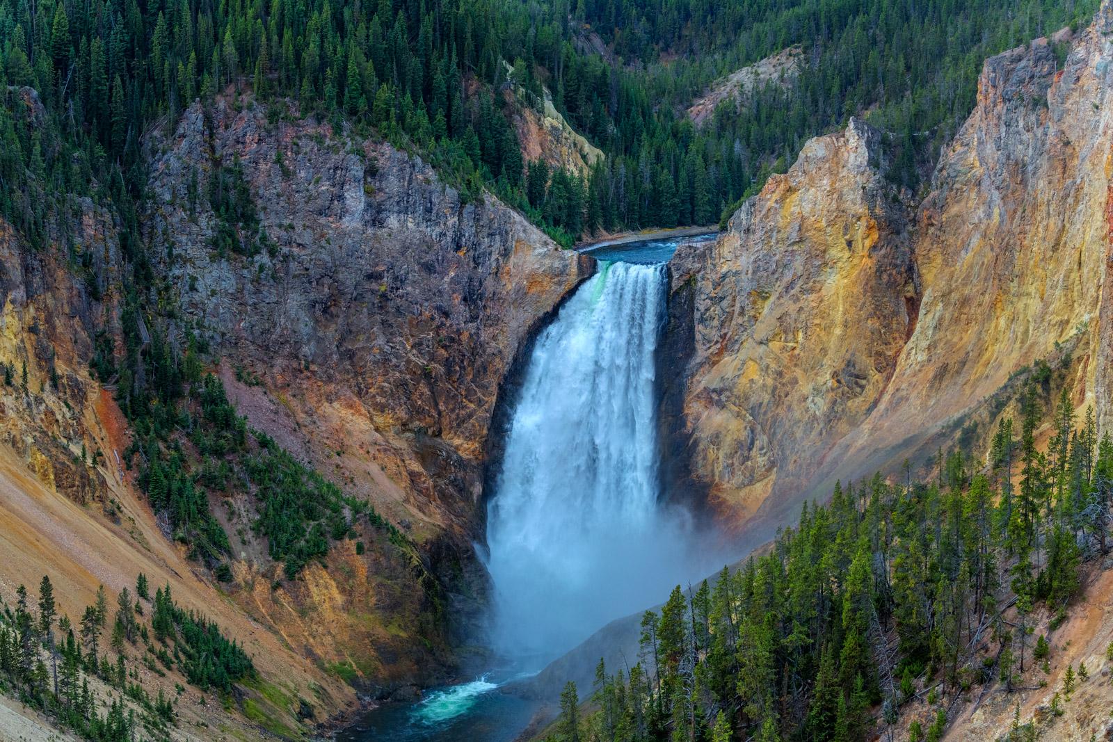 Wyoming, Yellowstone, National Park, Grand Canyon, Falls, Yellowstone Falls, limited edition, photograph, fine art, landscape, photo