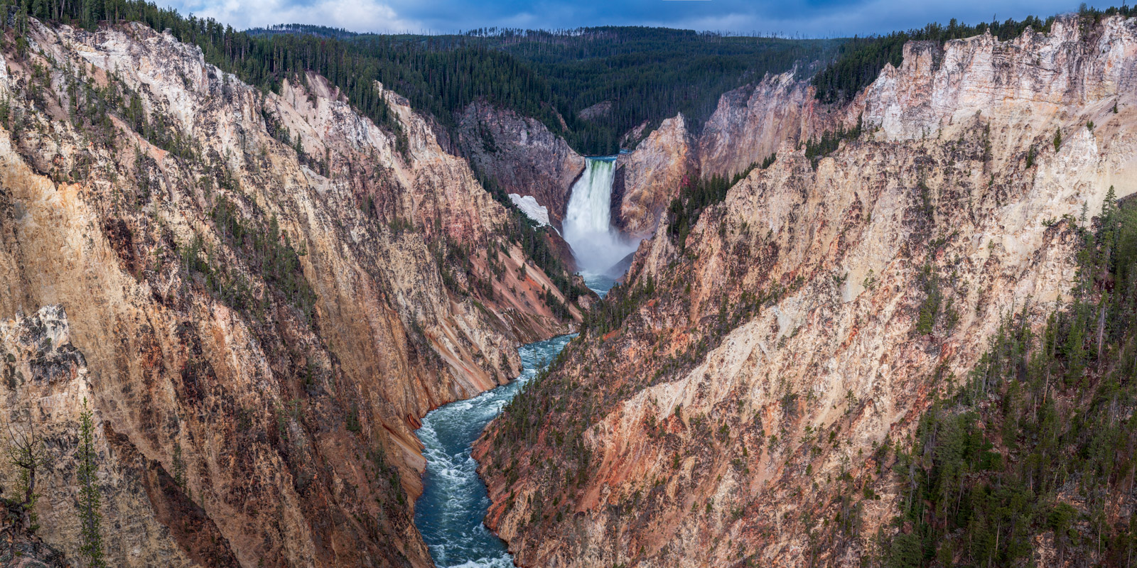 Wyoming, Yellowstone, Canyon, Falls