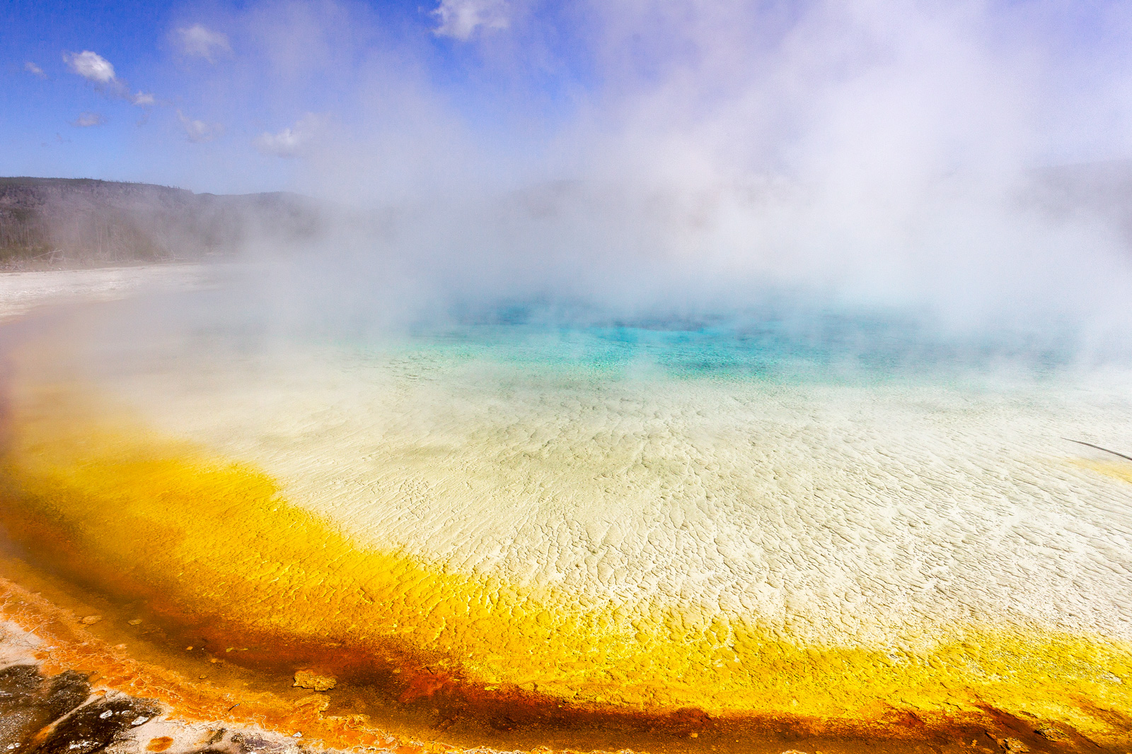 Wyoming, Yellowstone, Prismatic, Spring, Colors, Grand Prismatic, limited edition, photograph, fine art, landscape, photo